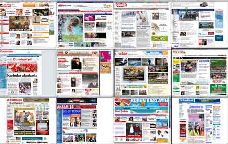 Turk gazete siteleri