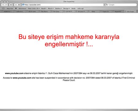 youtube Mahkeme YouTube Yayınlarını Durdurdu